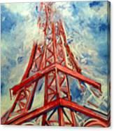 Paris Backdrop Canvas Print