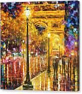 Paris - Campos Elises Canvas Print