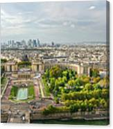 Paris City View 27 Canvas Print