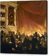 Paris: Comedie Francais Canvas Print