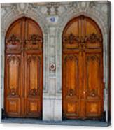 Paris Doors Canvas Print