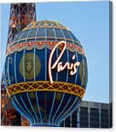 Paris-eifel Tower-las Vegas Canvas Print