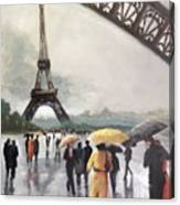 Paris Fog Canvas Print