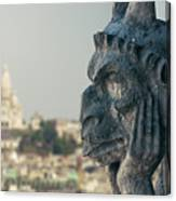 Gargoyle Of Paris Canvas Print