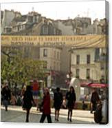 Paris Left Bank Canvas Print