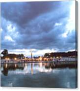 Paris Night Sky Canvas Print