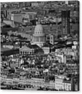Paris Pantheon Canvas Print