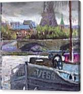 Paris Pont Alexandre IIi Canvas Print