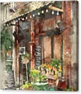Paris Restaurant 5 - By Diana Van Canvas Print