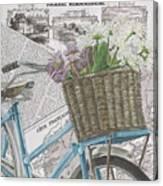Paris Ride 1 Canvas Print