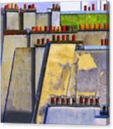 Paris Roof Tops 1 Canvas Print