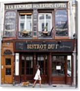 Paris Street Life 2 Canvas Print