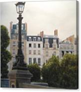 Paris Stroll Canvas Print