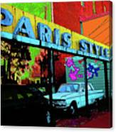 Paris Style Canvas Print