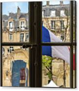 Paris Through Windows 2 Canvas Print