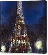 Paris Tour Eiffel Canvas Print