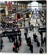 Paris Train Station Canvas Print