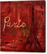 Paris - V01ct1at2cc Canvas Print
