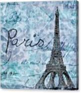 Paris - V01t01a Canvas Print