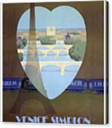 Paris Venice Railway, Orient Express Canvas Print