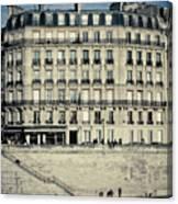 Parisian Building Canvas Print