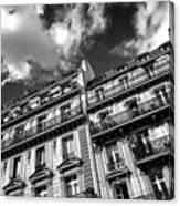 Parisian Buildings Canvas Print