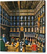 Parisian Pharmacy, 1624 Canvas Print