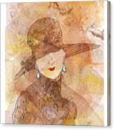 Parisienne 1930 Canvas Print