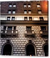 Park Avenue Sunglare Canvas Print