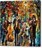 Park Band  Canvas Print
