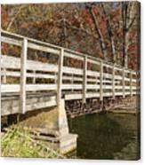 Park Bridge Autumn 3 Canvas Print