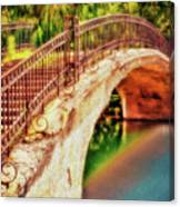 Park Walk Bridge Canvas Print