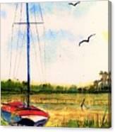 Parked Canvas Print