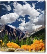Parker Canyon Fall Colors California's High Sierra Canvas Print