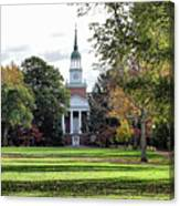 Parker Hall - Hanover College Canvas Print