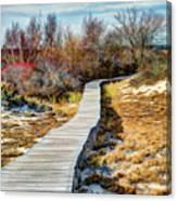 Parker River Nwr Boardwalk Canvas Print