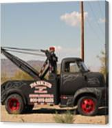 Parker Towing Tow-truck  Canvas Print
