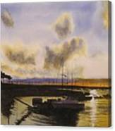 Parker's Boatyard II Canvas Print