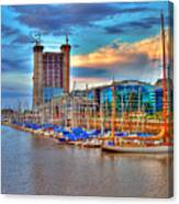 Parking Boat - Puerto Madero Canvas Print