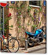 Parking Corner Canvas Print