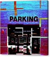 Parking Canvas Print