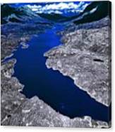 Parlament Blue Reservoir Canvas Print
