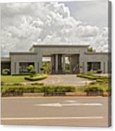 Parliament Building In Lilongwe Canvas Print