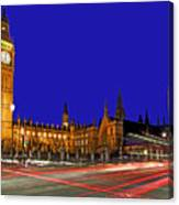 Parliament Square In London Canvas Print