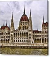 Parliment - Budapest Canvas Print