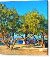Parmer's Resort At Little Torch Key Canvas Print