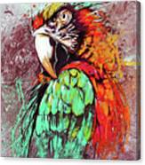 Parrot Art 09i Canvas Print