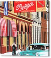 Partagas Cigar Factory Havana Cuba Canvas Print