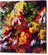 Parterre De Fleurs Canvas Print
