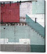 Partial Demolition  Canvas Print